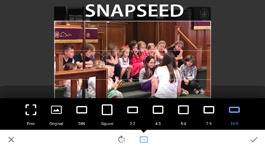 Snapseed app screen shot
