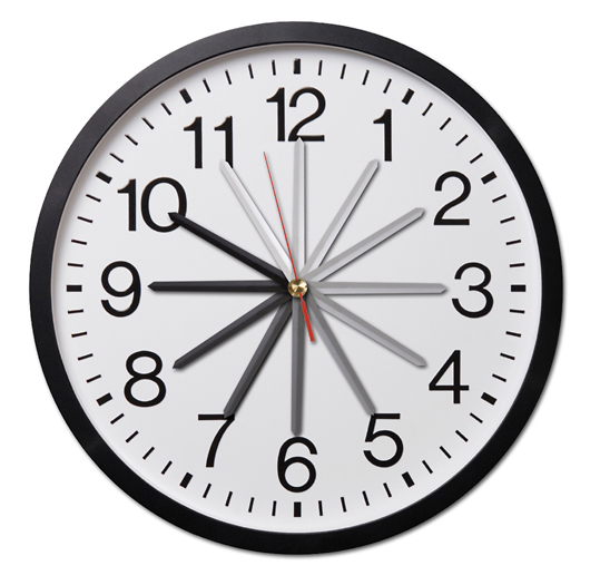 henninger column - deadline clock