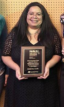 Katherine Locke, associate editor, Navajo-Hopi Observer