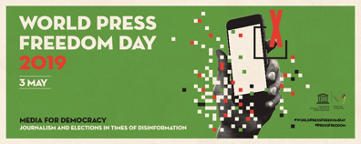World Press Freedom Day logo